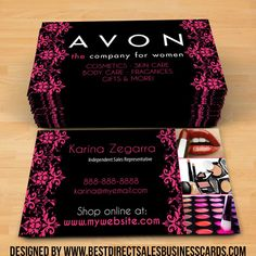 30 best avon business cards ideas images on pinterest business avon business cards style 5 fbccfo Gallery