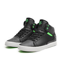 "SUPRA SOCIETY MID ""FRESH"" Shoe | GREY - WHITE | Official SUPRA Footwear Site"