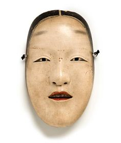 Deme Mitsuhide (Japanese),Mask of Zo, paint/lacquer/wood, c.late 18th c.
