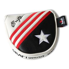 15faf9e84a9 USA Flag Red Stripes and Star Mallet Putter Head Cover