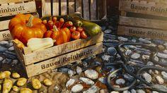 Bountiful Harvest (still and animation) by Zacharias Reinhardt / AgenZasBrothers Blender Tutorial, Bountiful Harvest, Blender 3d, 3d Animation, Pumpkin, Vegetables, Artwork, Food, Modeling