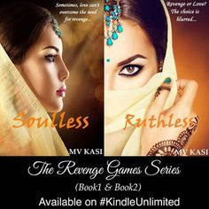 Grab the #Bestselling #Series #TheRevengeGames now!  #Romance #Drama #Thriller #Amazon #KindleUnlimited SOULLESS: smarturl.it/saht  RUTHLESS: http://ift.tt/2v3gYTr; #Soulless #Blurb  Sia Sampath is on a mission. Her ultimate aim is to search and destroy her enemy. Lying deceit and manipulation were just some of the tools she had at her disposal. And for someone who was cold and emotionless it wasnt supposed to be hard to achieve her goal. But there was one big problem. And it came in form of…