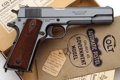 Colt Pistols and Revolvers for Firearms Collectors - Gun of the Month - September 2007