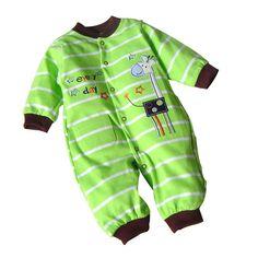 아기 장난 꾸러기 유아 긴 소매 아기 의류 아기 소년 소녀 착용 신생아 비비 전체 옷