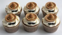 The cutest Mexican Sombrero cupcakes 3718f11244ca
