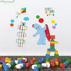 Igglepiggle play wall sticker