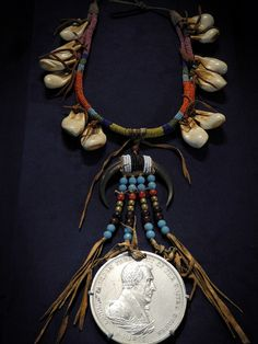 Indian Peace Medal featuring US President Andrew Jackson at National Museum of the American Indian Washington DC, via Flickr.