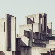 Concrete Cross by Florian Mueller, via Behance