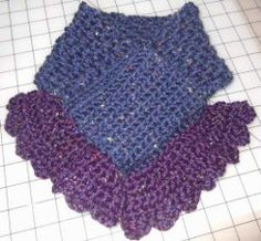 Learn how to crochet a scarflette pattern. All you need one skein of bulky yarn of your choice and a J hook. Flounce ends and scalloped edging add a great touch.
