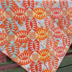Pickled Orange Peel quilt pattern by Emma Jean Jansen