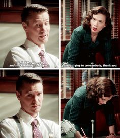 "Agent Carter - I hate when people refer to me as ""she"". I have a name, thanks."