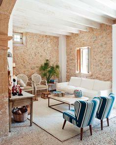 A country villa in Mallorca, Spain