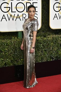 Ruth Negga Is the Breakout Red Carpet Star of the Golden Globes