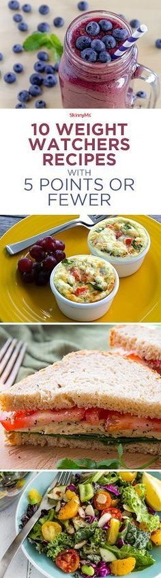 10 Weight Watchers Recipes with 5 Points or Fewer