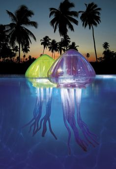 Floating Jellyfish Pool Lights