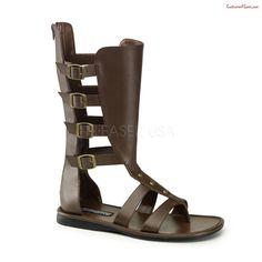 SPARTAN-105, 4 Buckle Strap Calf High Gladiator Sandal#Buckle, #Strap, #SPARTAN Roman Sandals, Gladiator Sandals, Leather Sandals, Men's Sandals, Sandal Heels, Greek Sandals, Summer Sandals, Summer Shoes, Strap Sandals