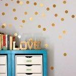 10 paredes de lunares irresistibles · 10 dotted walls