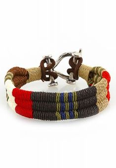 Men's Nautical bracelet #bracelet #accesories