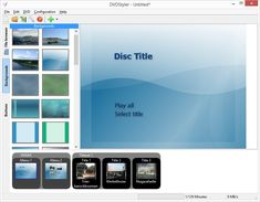 DVD authoring with titles, menus, etc. Linux, Mac, Windows.