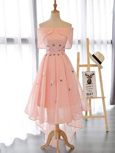 Dresses Short, A Line Prom Dresses, Flower Dresses, Pretty Dresses, Sexy Dresses, Beautiful Dresses, Evening Dresses, Fashion Dresses, Formal Dresses