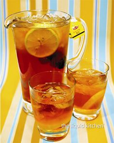 Chattanooga Iced Tea:  one quart of very strong, sweetened iced tea, one small can of (undiluted) frozen lemonade and 10 ounces of ginger ale.  If you double this recipe, make it 10 ounces of ginger ale and 10 ounces of club soda.
