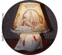 """Освещение ручной работы. Ярмарка Мастеров - ручная работа Лампа """"Сказки на ночь"""". Handmade."""