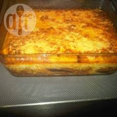 Foto recept: Traditionele moussaka