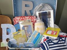 Baby Shower In A Box (or Suitcase)