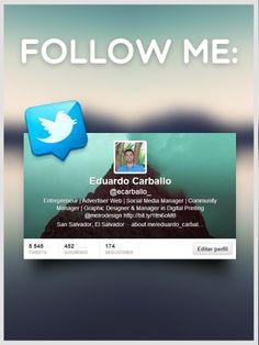 Follow Me : @ecarballo_