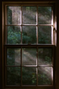 It's the way the light shines through the window. Vie Simple, Attic Renovation, Attic Remodel, Window View, Window Panes, Attic Window, Through The Window, Light And Shadow, Windows And Doors