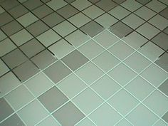 7 cups water, 1/2 cup baking soda, 1/3 cup ammonia (or lemon juice) and 1/4 cup vinegar to clean the grout on a tile floor.