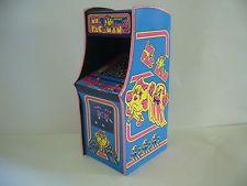 MS. PAC MAN Miniature Retro Arcade Model 1/12th Scale