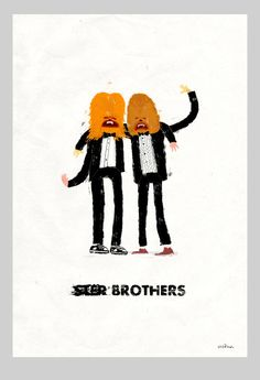 Step Brothers Rezatron19x13 print on velvet signed limited edition of 54 year anniversary art show for the movie Step Brothers at Gallery 1988 Friday 08.17.12