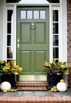 20+ Fresh Front Door Decorating Ideas For Fall