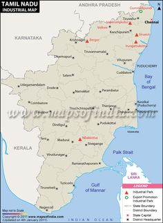 36 best tamilnadu map images on pinterest cards chennai and india map tamilnadu industries map gumiabroncs Image collections