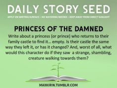 For a reason or a season come to valerie's place: Writing prompt...Princess or Prince of the damned ...