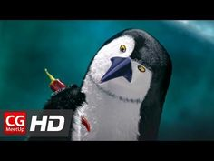 Penguin friends wander on the sea ice and discover something that will seal the fate of Antarctica. Cgi, Top Animated Movies, Animation 3d, Animation Movies, Short Film Video, Laugh Cartoon, Film World, Films Cinema, Sea Ice