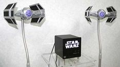 Star Wars home stereo speakers!