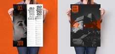 Brattle Theater Poster & Calendar Series on Behance by Gerald Hastings
