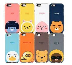 KAKAO FRIENDS POP iPhone 6/6S/Plus Cell Phone Case Cover Protector #FRIENDSPOPKAKAO