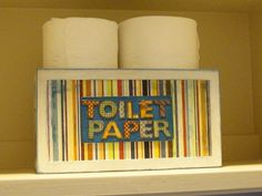 We all have toilet paper holders in our toilets. Although we all have different solutions to store backup toilet paper rolls. Toilet Paper Storage, Toilet Paper Roll, Storage Solutions, Cool Stuff, Organization Ideas, Storage Ideas, Creative, Fun, Paper Holders