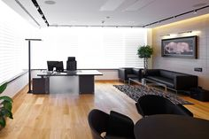 CEO's office at russian company, Moscow