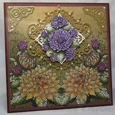 Heartfelt Creations | Golden Dahlias