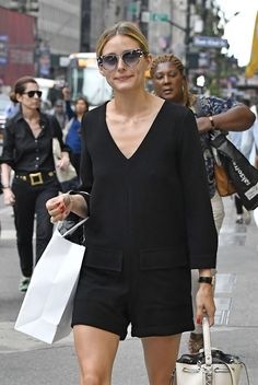 Olivia Palermo out in New York, 06/09/2016