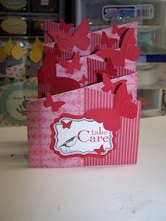 Bonnie's Creative Place: Cascading Card
