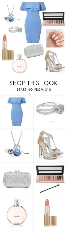 """Untitled #241"" by patrunorossella ❤ liked on Polyvore featuring Miss Selfridge, Disney, Jimmy Choo, Love Moschino, Hot Topic, Chanel and L'Oréal Paris"