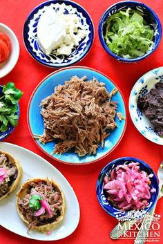 Flavorful seasoned shredded beef to stuff your tacos or other typical authentic mexican recipes.