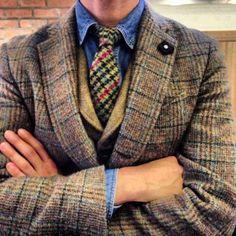 Lardini Loft-trading tie