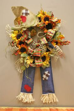 scarecrow grapevine wreath!