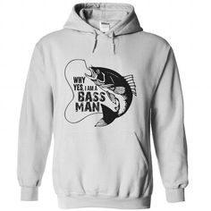 Cool and Awesome I AM A BASS MAN Shirt Hoodie
